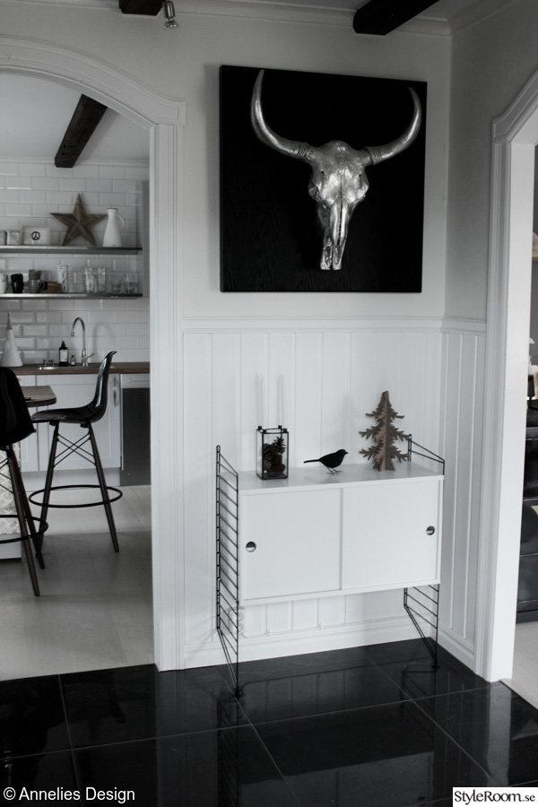Renovering av hall i svart och vitt Bilder före& efter Ett inredningsalbum på StyleRoom