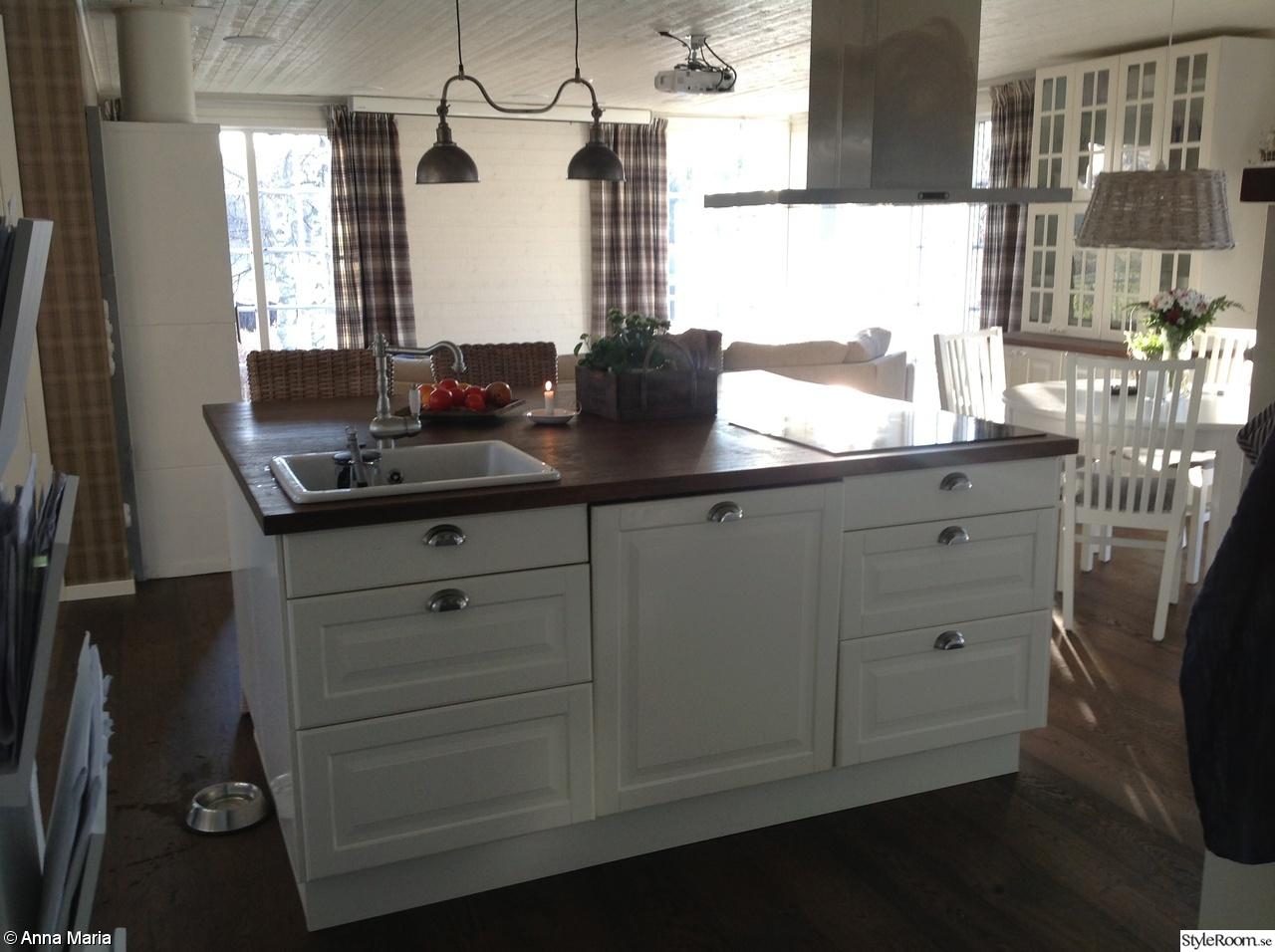 Lantliga Koksbord : new england koksbord  Vort drom hus New England inspirerat Ett