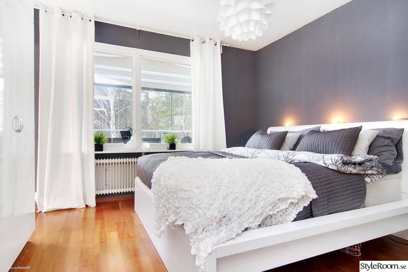 Chambre grise blanche sur pinterest t tes de lit chambres et lits - Chambre blanche et grise ...