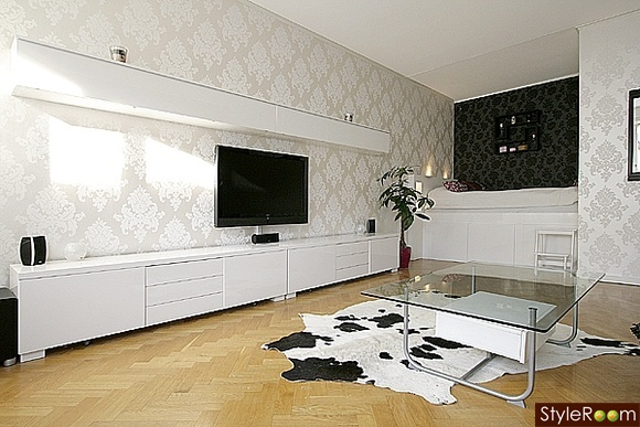 Installer sa tv au mur conseils astuces et photos page 41 29883755 - Meuble tv ikea besta burs ...