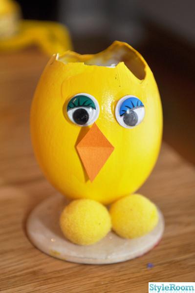 ägg,påskpyssel,pyssel,kyckling