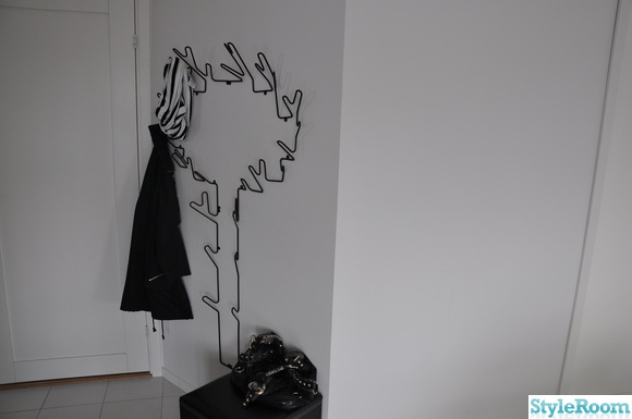 hall,klädhängare träd
