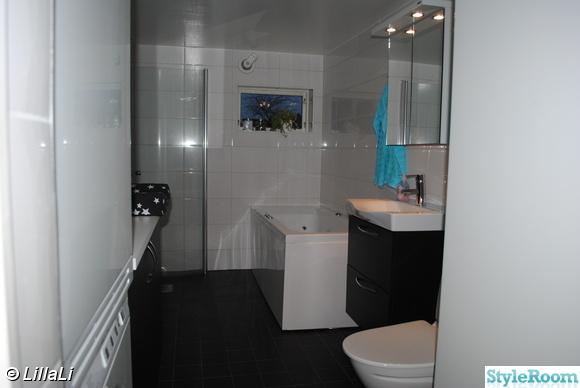 Inspirerande bilder på litet badrum