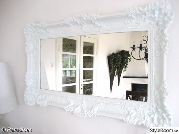 Spegel vit