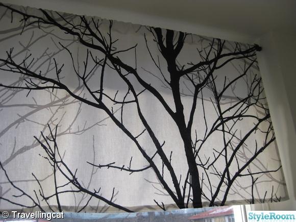 Inspirerande bilder på gardin