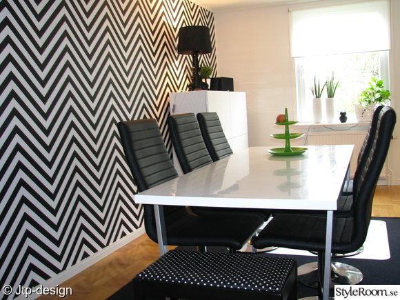 matrum,tapet,ziggzagg,kartell,sideboard,babel,grön,matbord,läder,stol