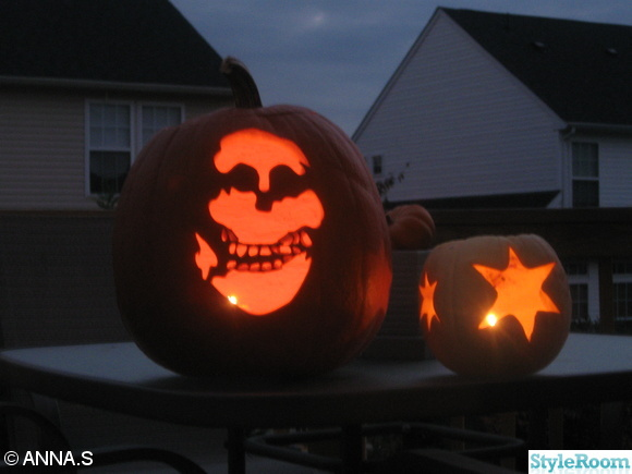 inspirerande bilder p halloween