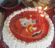 tårta,hello kitty