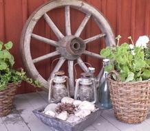 altan,plantering,hjul,trädgård