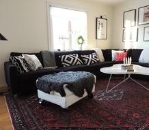 Persisk matta vardagsrum